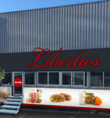Liberties entertainment zaal